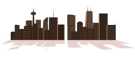 illustration of big city Stock Vector - 15866221
