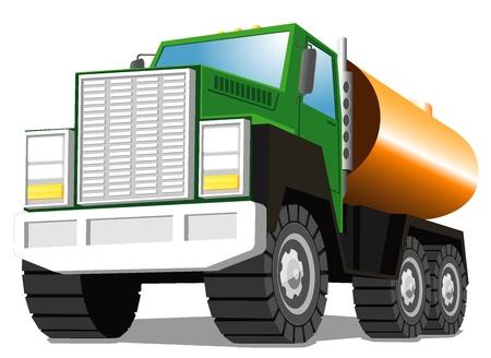 tanker type: tank truck