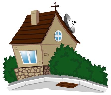 house Stock Vector - 16984567