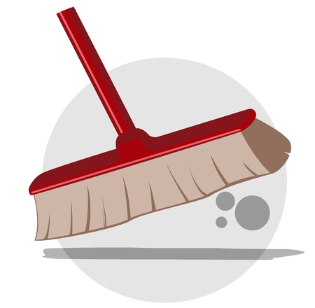 illustration of cleaning service image. Vector 4 Stock Vector - 17379361