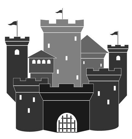 medieval castle  vector illustration 5 Vector