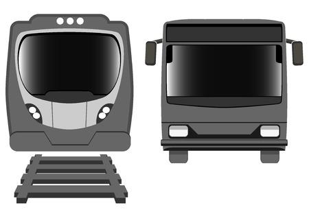 transport icons. vector illustration Vector