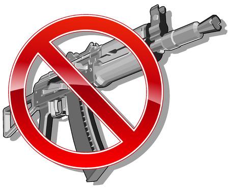 pistola: ni rastro del arma. ilustraci�n vectorial 2 Vectores