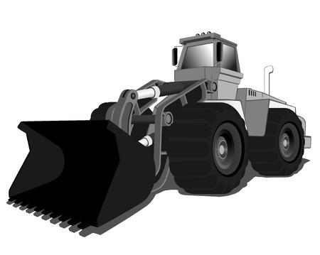 loader: wheel loader.