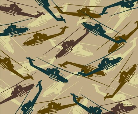 on air sign: vector background of military units 2