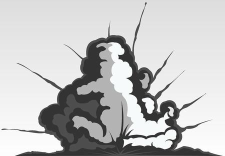 meltdown: explosion illustration
