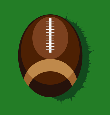 afc: american football ball. vector illustration Illustration