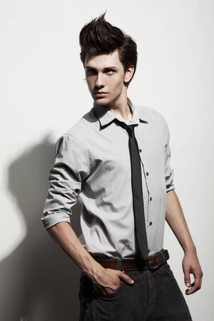 Fashionable Man Stock Photo