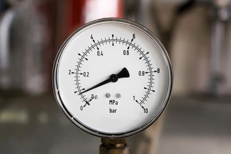 Pressure gauge Фото со стока
