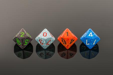 2014 color cubes sign Фото со стока