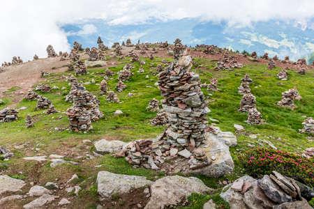 Stoanerne Mandln - Piles of Stones