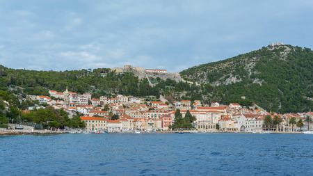 Hvar in Croatia view from sea