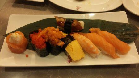 sushi Reklamní fotografie