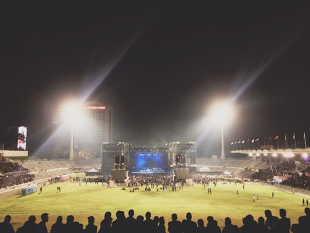 merdeka: Metallica live performance in Stadium Merdeka, Kuala Lumpur, Malaysia