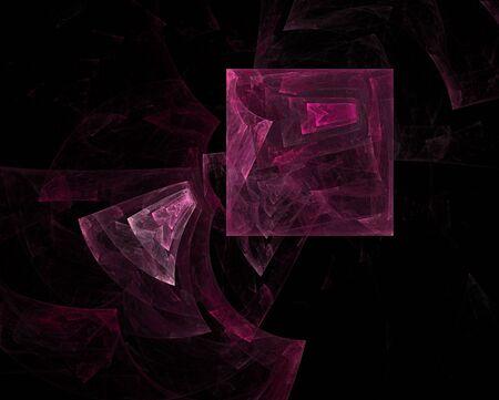 crimson: Crimson geometrical chaos