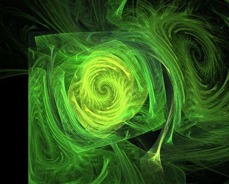 apophysis: Green vortex