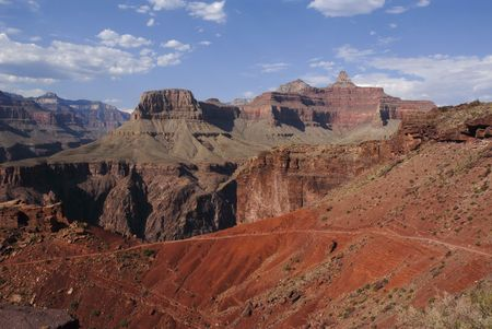 Kaibab trail in Grand canyon Stock Photo - 6605815