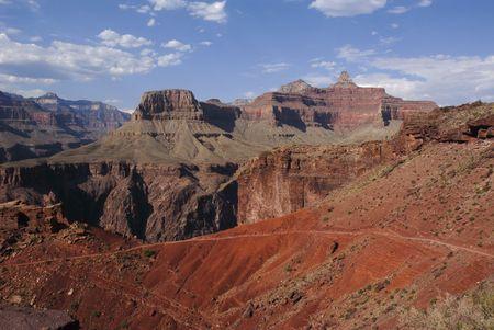 kaibab trail: Kaibab trail in Grand canyon