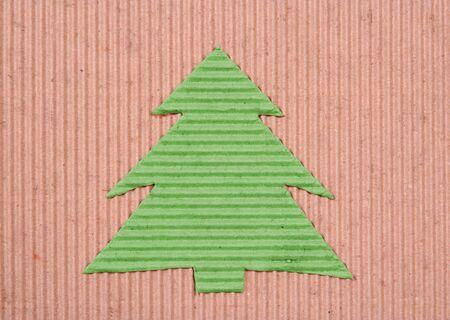 teknik: Ecology Christmas-tree background