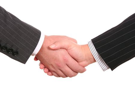 Bussines handshake Stock Photo - 3881653