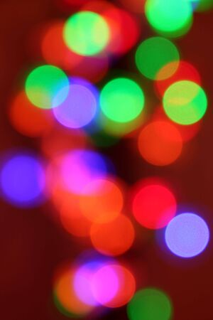 flicker: Abstract flicker background of colof full blurred ights Stock Photo