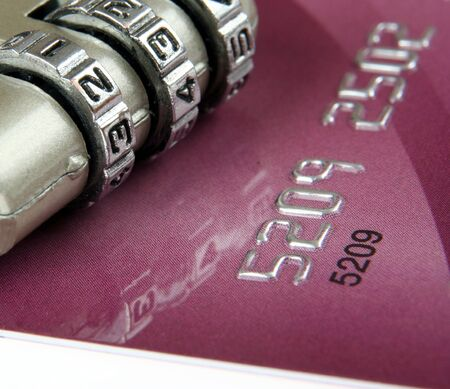 Close up of a credit card Stock Photo - 3950847