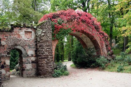 arkadia: Beautiful old park in Poland -Arkadia