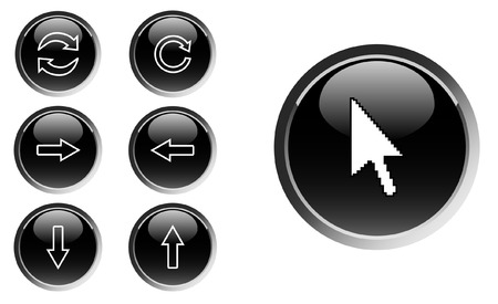 Set of web icons - vector Vector