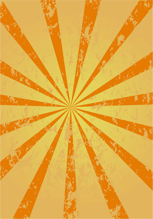 retro sunburst background , vector  Stock Vector - 4454293