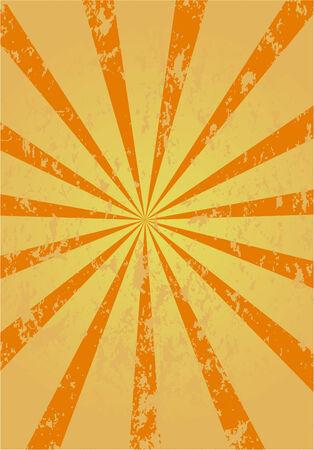retro sunburst background , vector  Vector