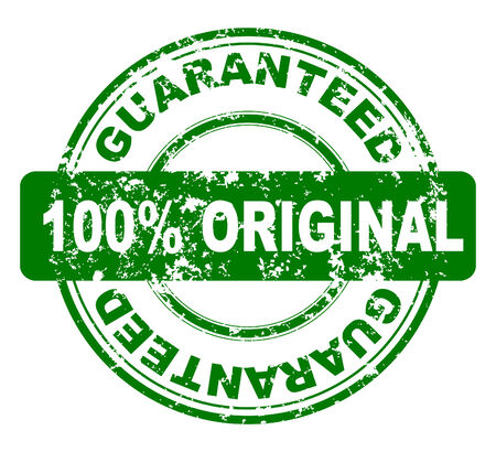Grunge stamp with 100% guaranteed, vector  Vector