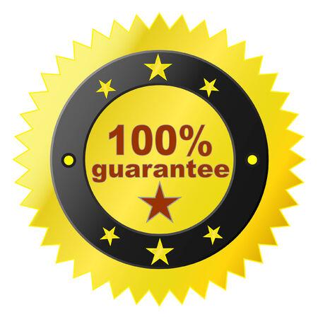 Vector sticker with satisfaction guarantee Stock Vector - 4603522