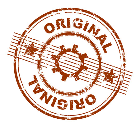 grunge stamp with original stamped across it Stock Vector - 4617004