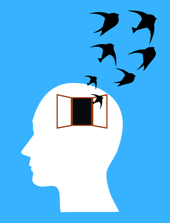 distressing: Concept of fear, stress or depression