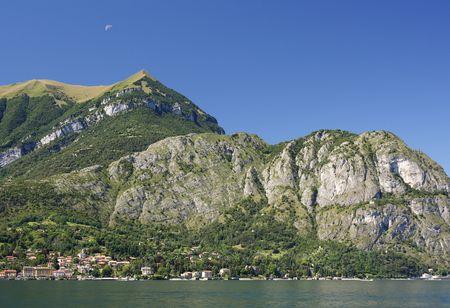 mountainy: View of Como lake in Italy