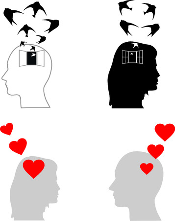disturbing: concept of depression and love