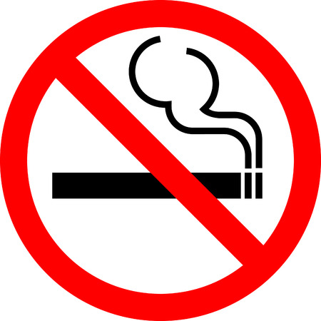 Vector sign No smoking Vector