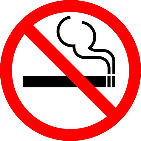 """Vector signo """"Prohibido fumar"""" Foto de archivo - 5121890"""