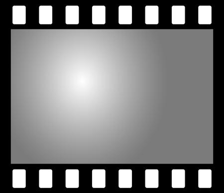 sparare: Old b & w film negativo fotografico
