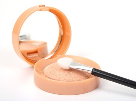 lightsome:  bright make-up eye-shadows and cosmetic brush