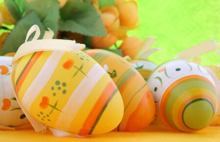 Painted Colorful Easter Eggs Stock Photo - 6409317