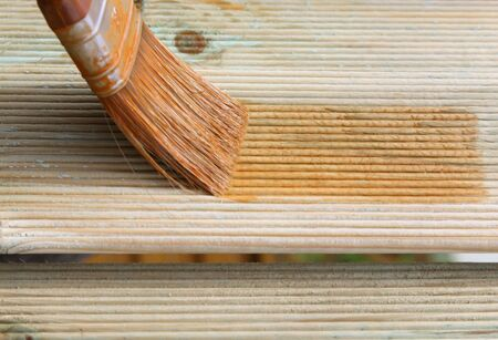 Painting wooden brush Stock Photo - 7376769