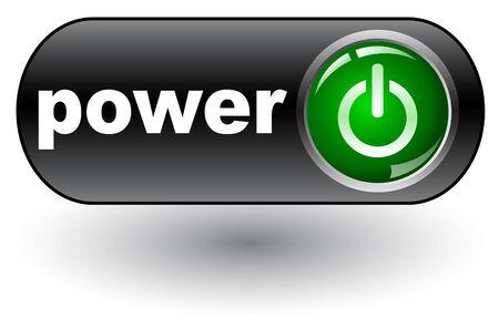 run off: Power (Start on) - web button,