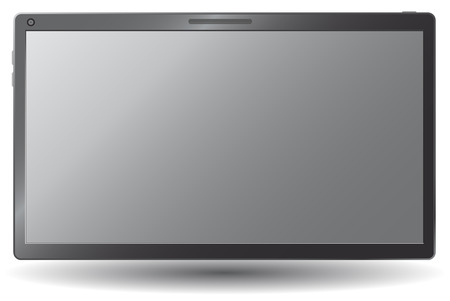 Touchscreen tablet, Stock Vector - 8154988