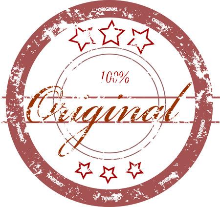 stamp Original Stock Vector - 8155003