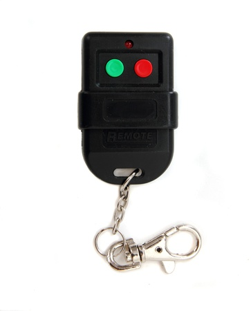 Alarm remote control isolated on white Stock Photo - 8317815
