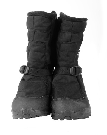winters: Pair of black winters boots