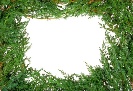 Christmas frame with space for your text photo