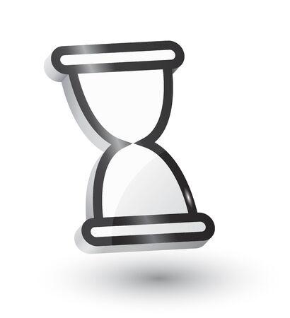 expire: hourglass (sandglass) illustration