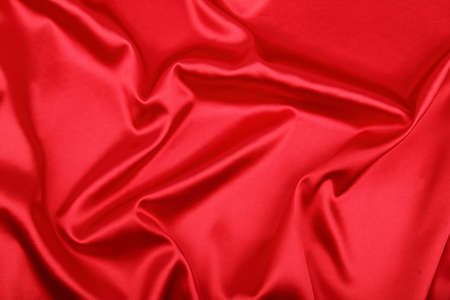 Smooth elegant red silk can use as background photo